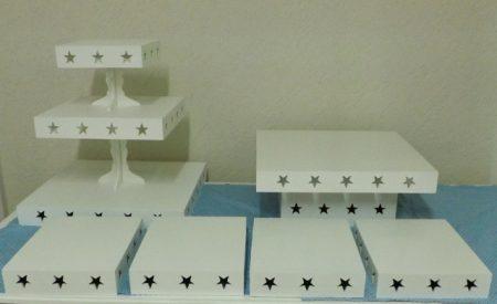 Kit Peças de mesa Locação