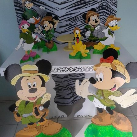 tema mickey safari