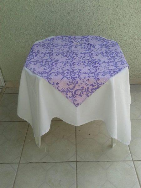 toalha lilás arabesco