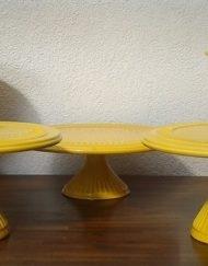 kit amarelo mickey 7 peças