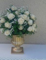 arranjo floral durado artificial
